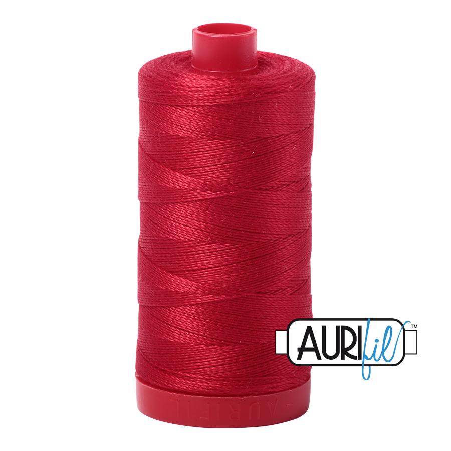 Aurifil 12wt 356y Red