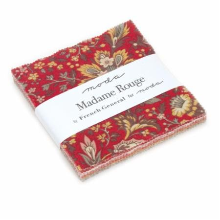 French General Madame Rouge Charm Pack