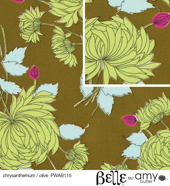 Belle Chrysanthemum Olive