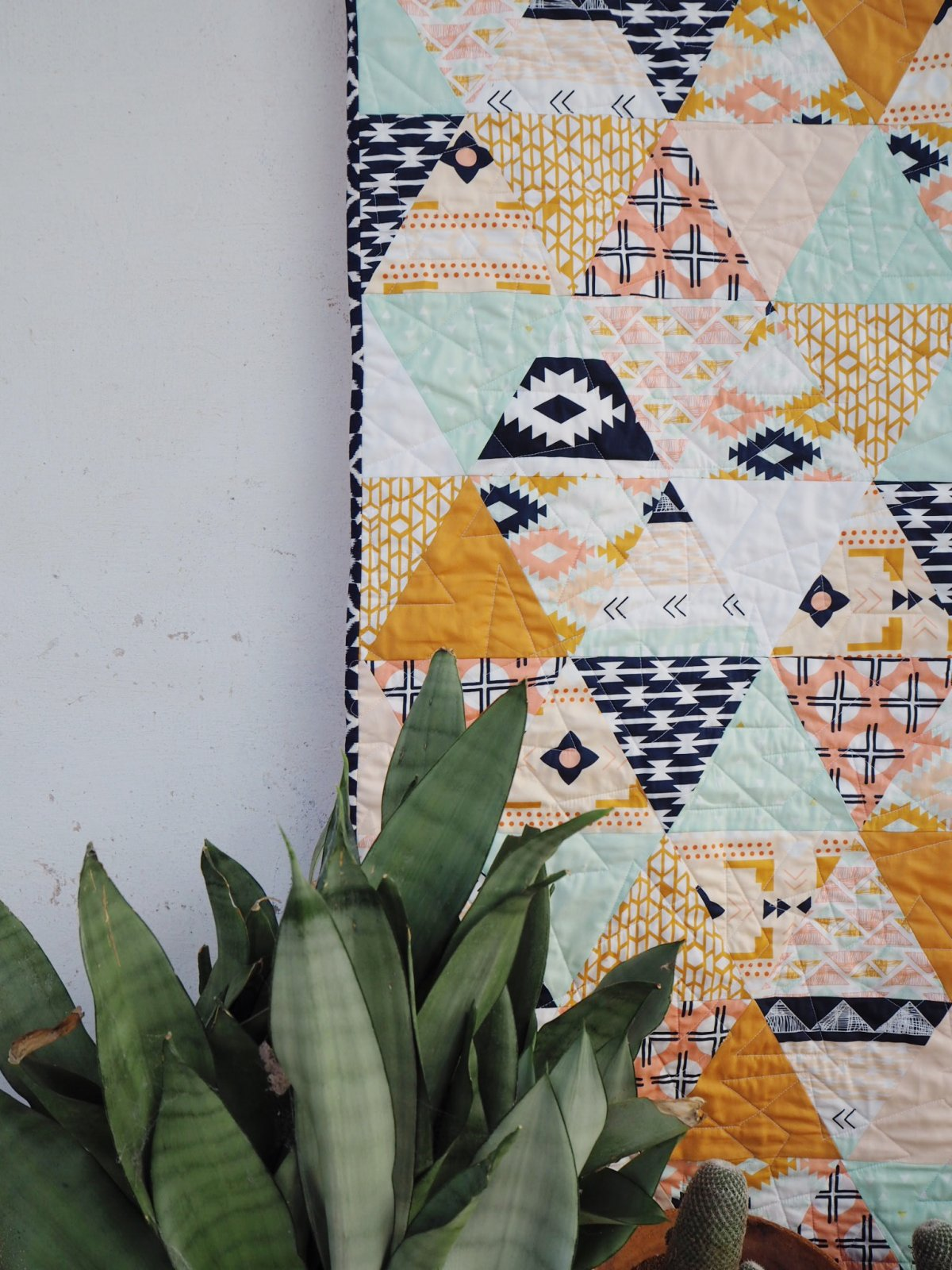 Arizona Quilt Pattern by ruby & kate