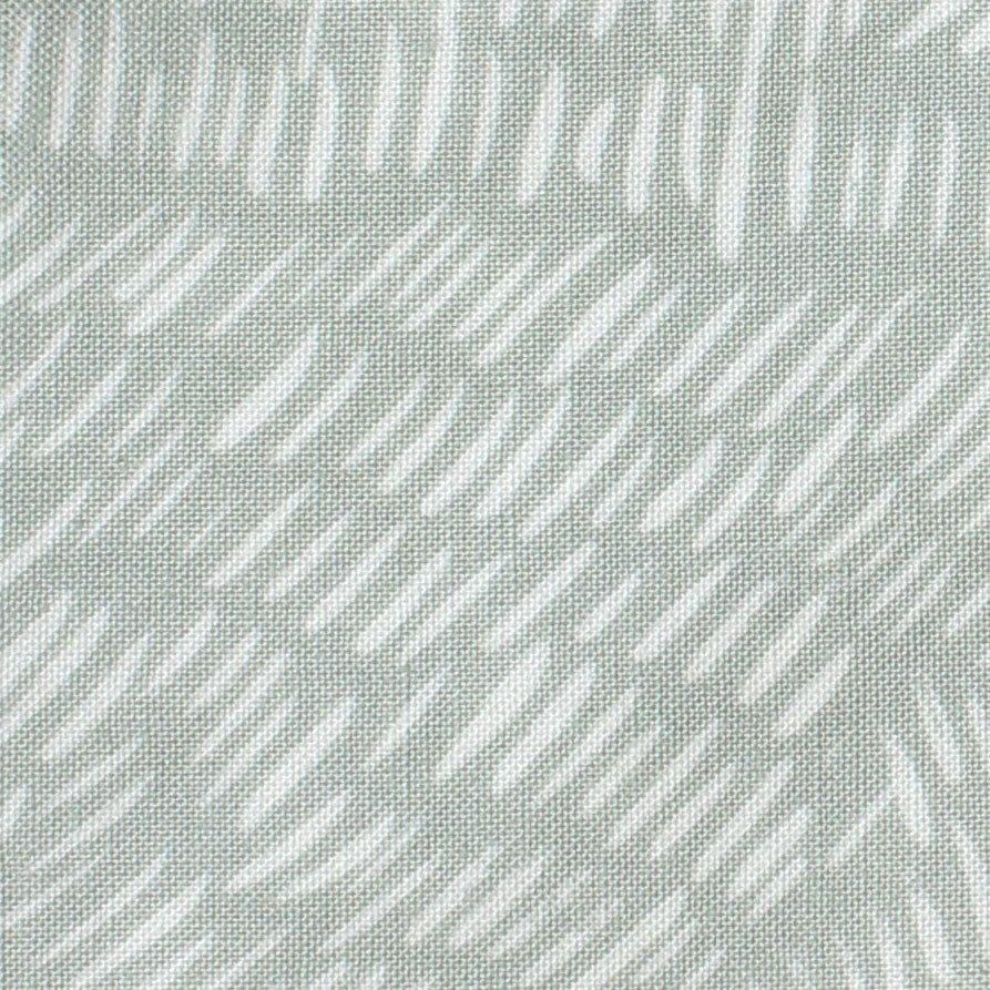 Brushstrokes on Eau De Nil by Umbrella Prints