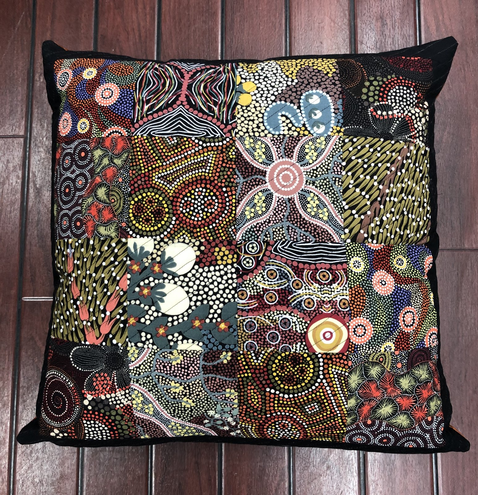 Bush Spice Cushion Pattern