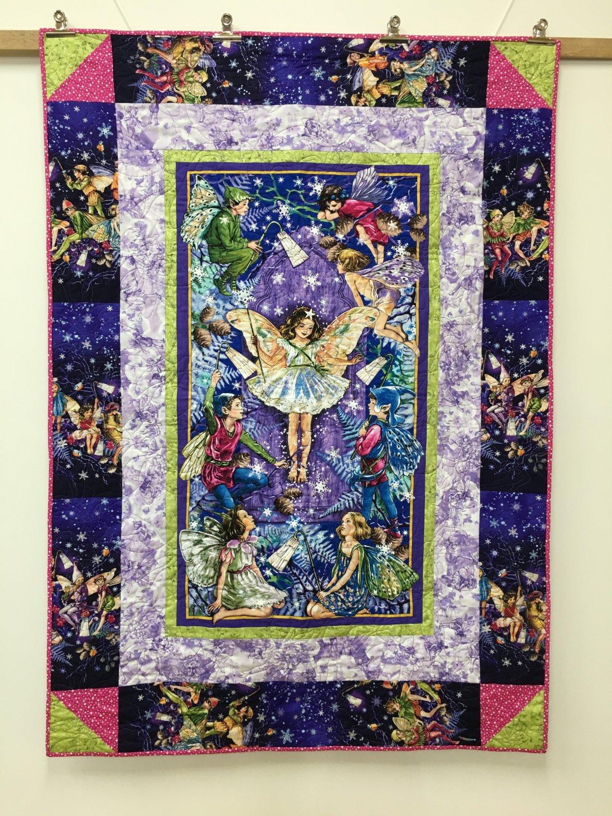 Fairies in the Garden Quilt Kit