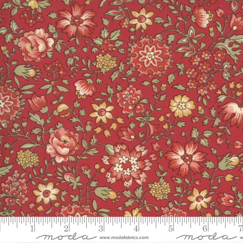 Jardin De Fleurs Rouge Giverynv