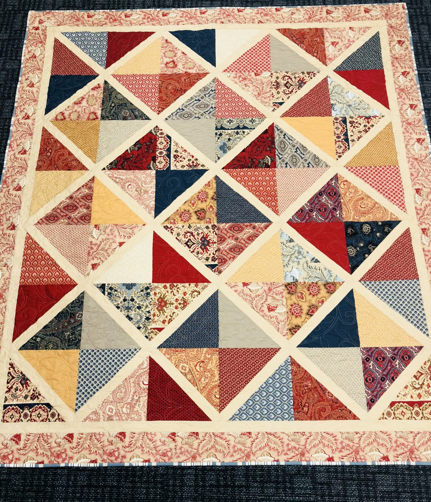 French Trellis Quilt Kit