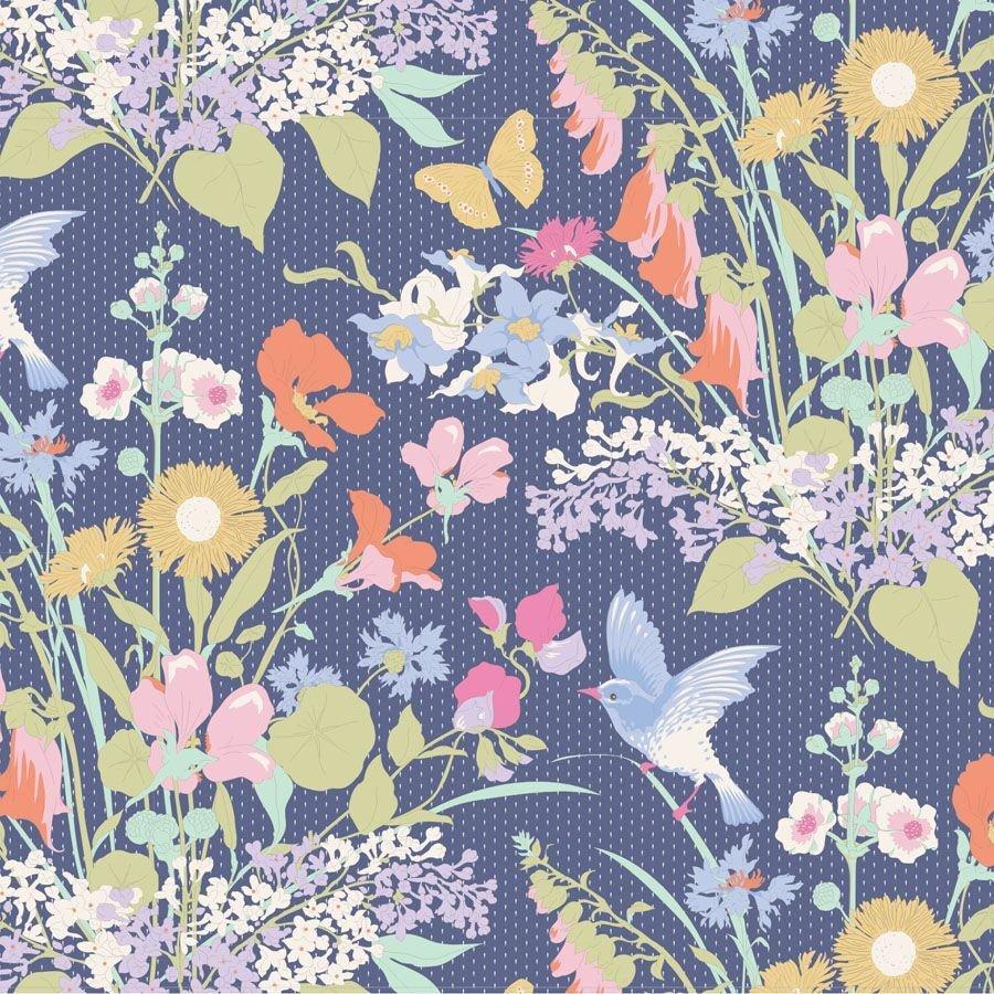 Gardenlife Bird Floral Blue