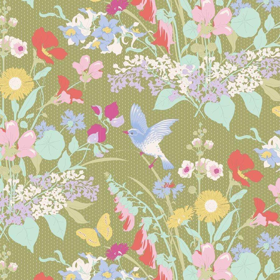 Gardenlife Bird Floral Green