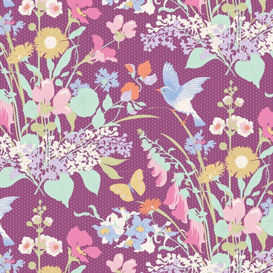 Gardenlife Bird Floral Plum