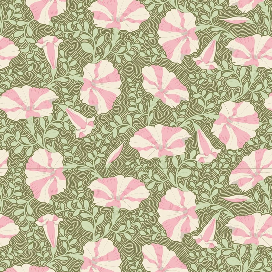 Gardenlife Striped Petunia Green