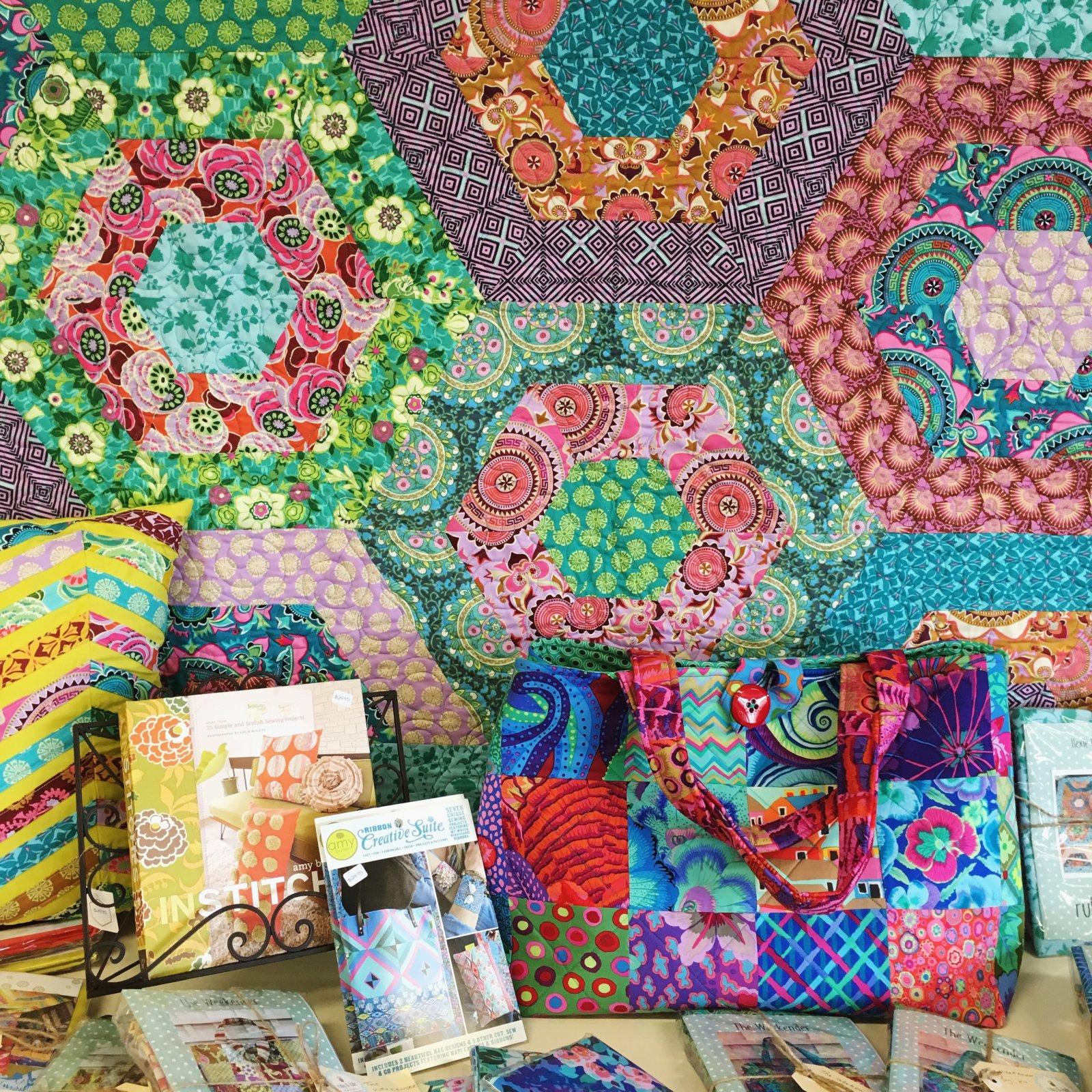 Hexie Love Quilt Pattern
