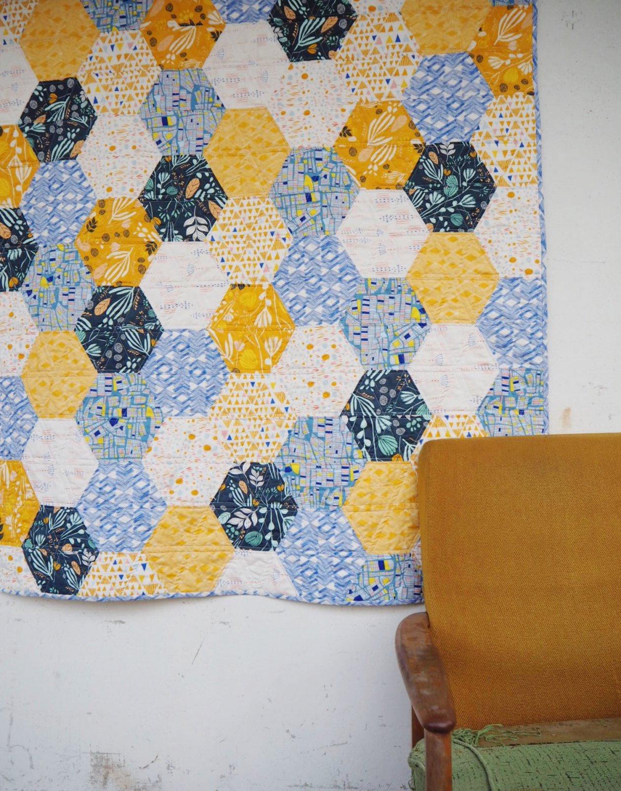 Hexie Quilt Pattern