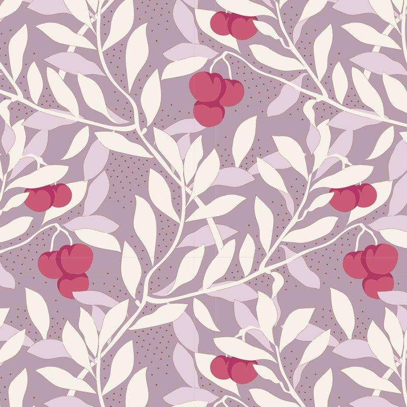 Tilda Maple Farm Cherrybush Mauve