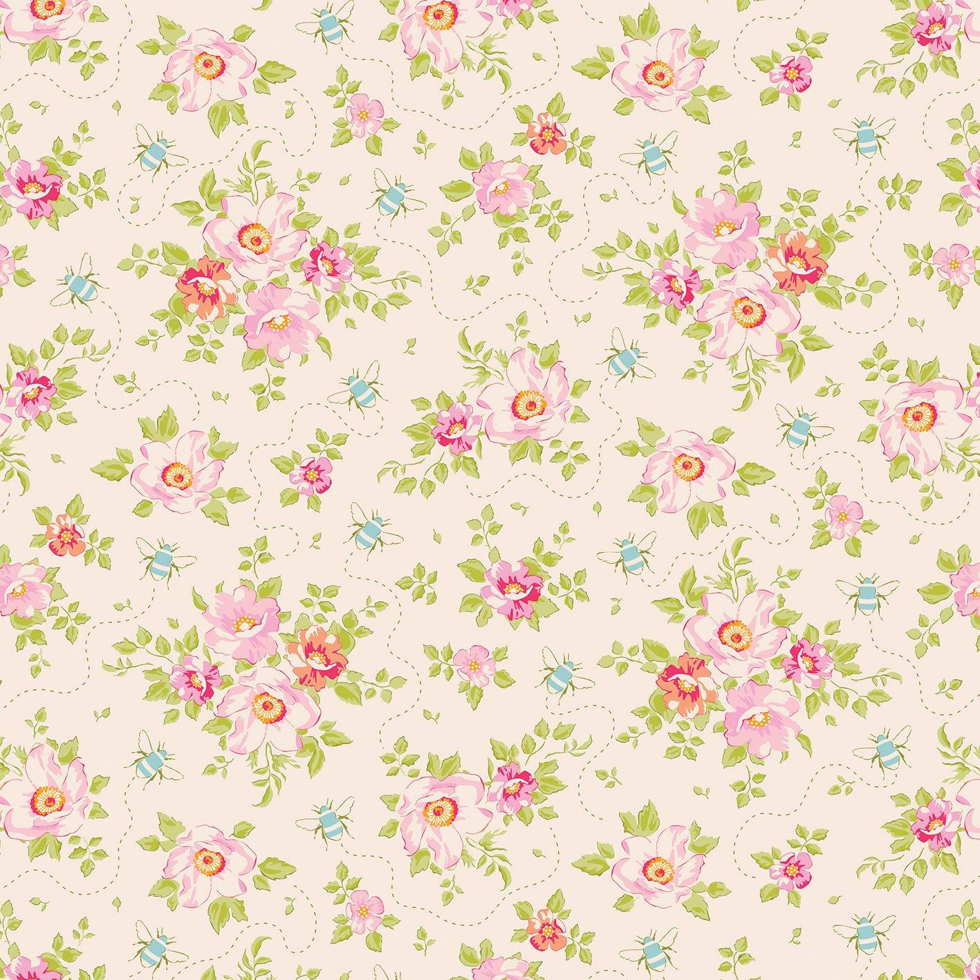 Tilda Bumblebee Rosa Mollis Linen