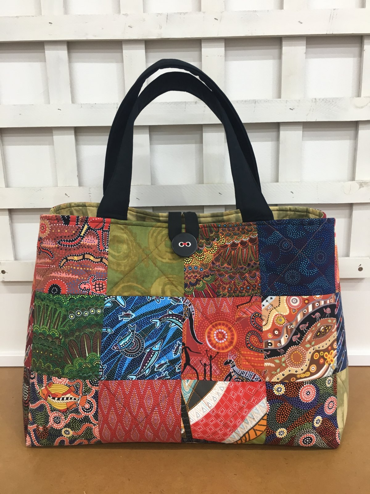 Weekender Bag Kit Aboriginal Print