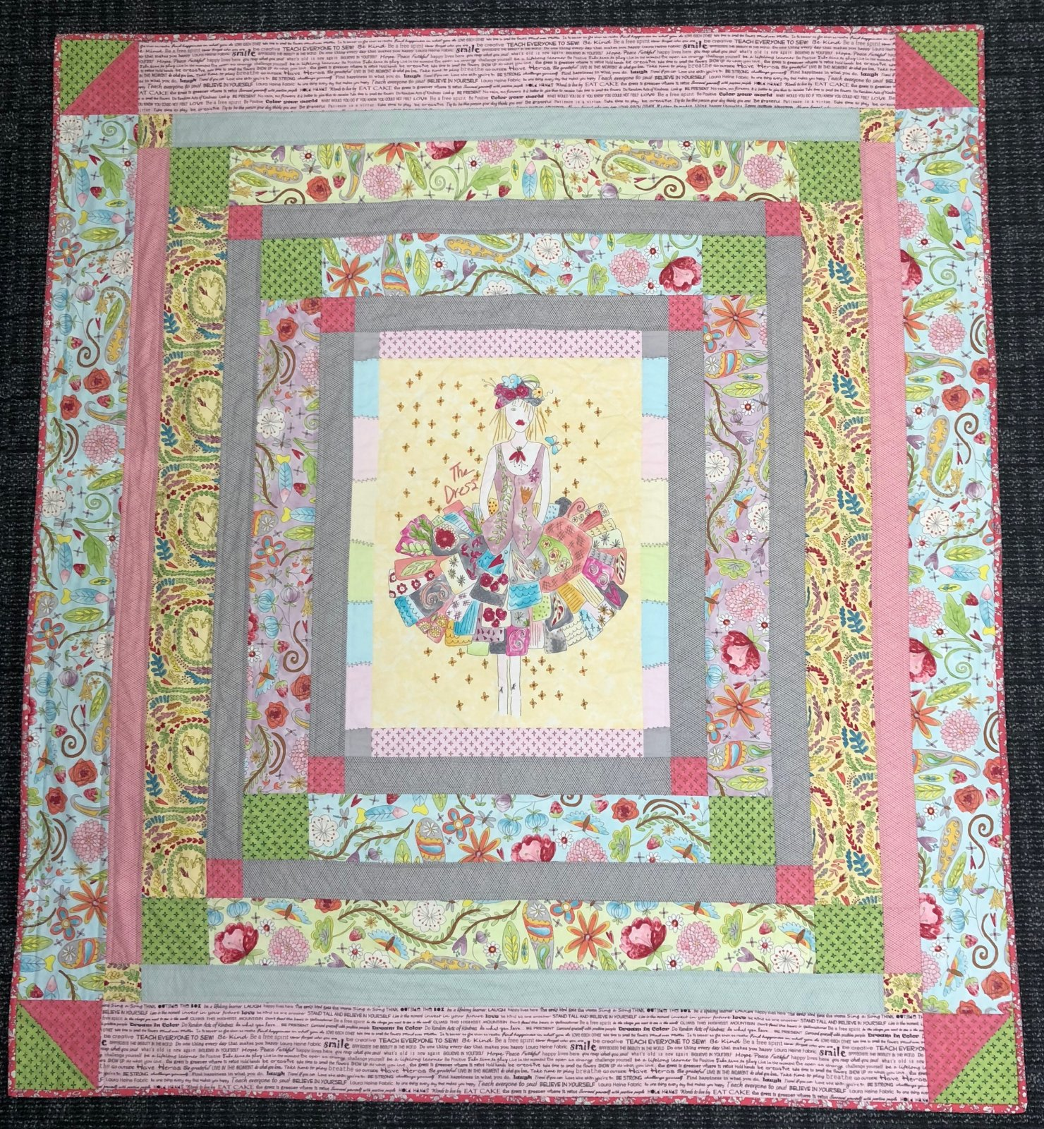 The Dress Quilt Kit