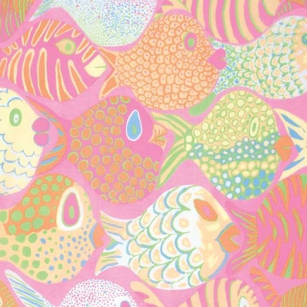 Kaffe Collective Fish Pink