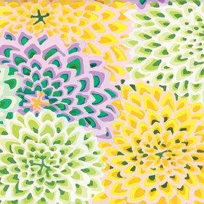 Kaffe Fassett Dahlia Blooms Spring