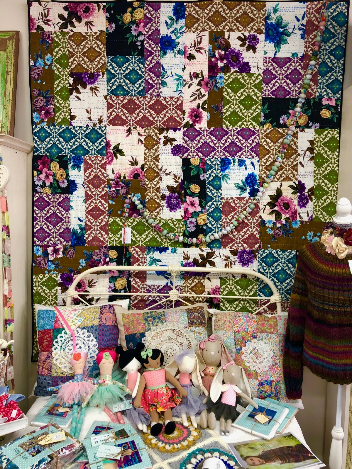 Nanna's Curtains Quilt Kit