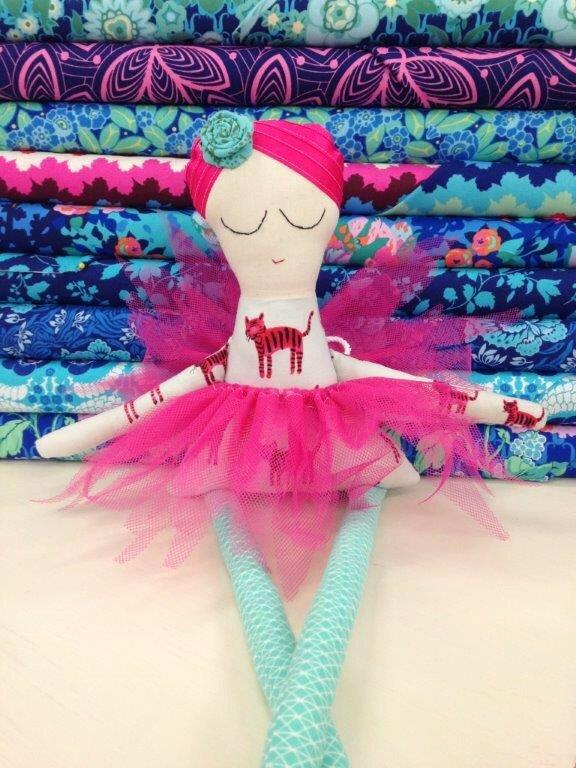 Nina the Ballerina Pattern