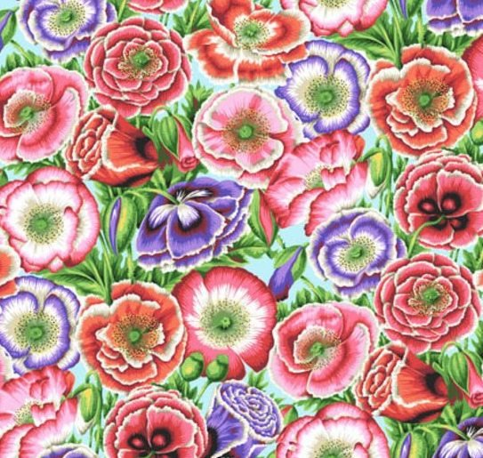 Kaffe Collective Poppy Garden Pink