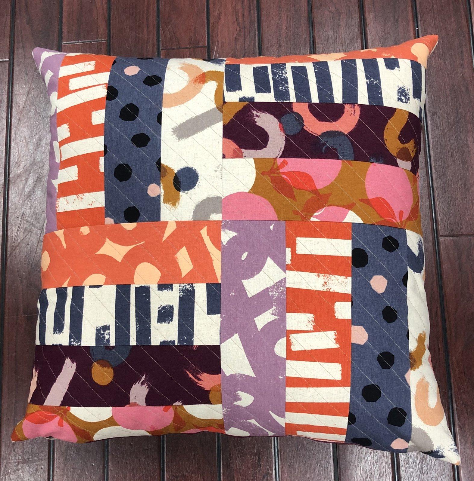 Rail House Cushion Sunset Pattern