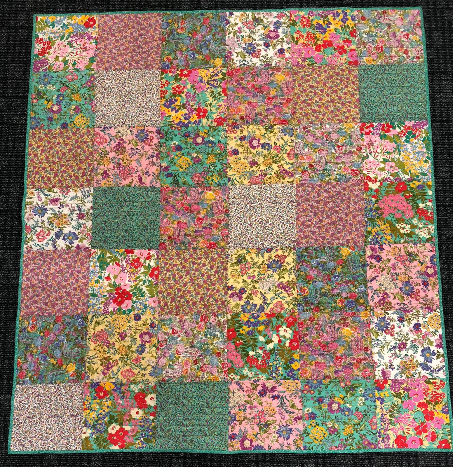 Regent Street Throw Quilt Kit