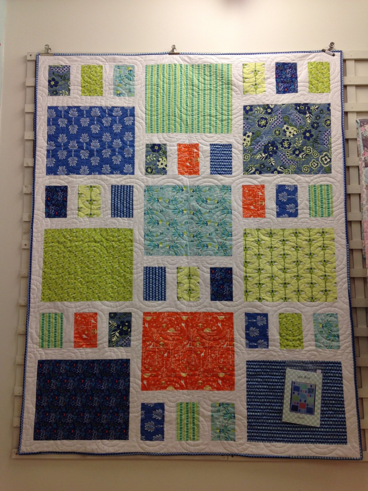 Safari Moon Quilt Kit