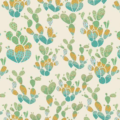 Succulence Everlasting Cacti Terrain Metallic