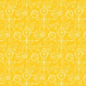 Sun Print Alison Glass Mercury Yellow