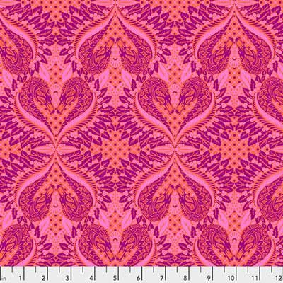 Tula Pink Pinkerville Gate Keeper Cotton Candy