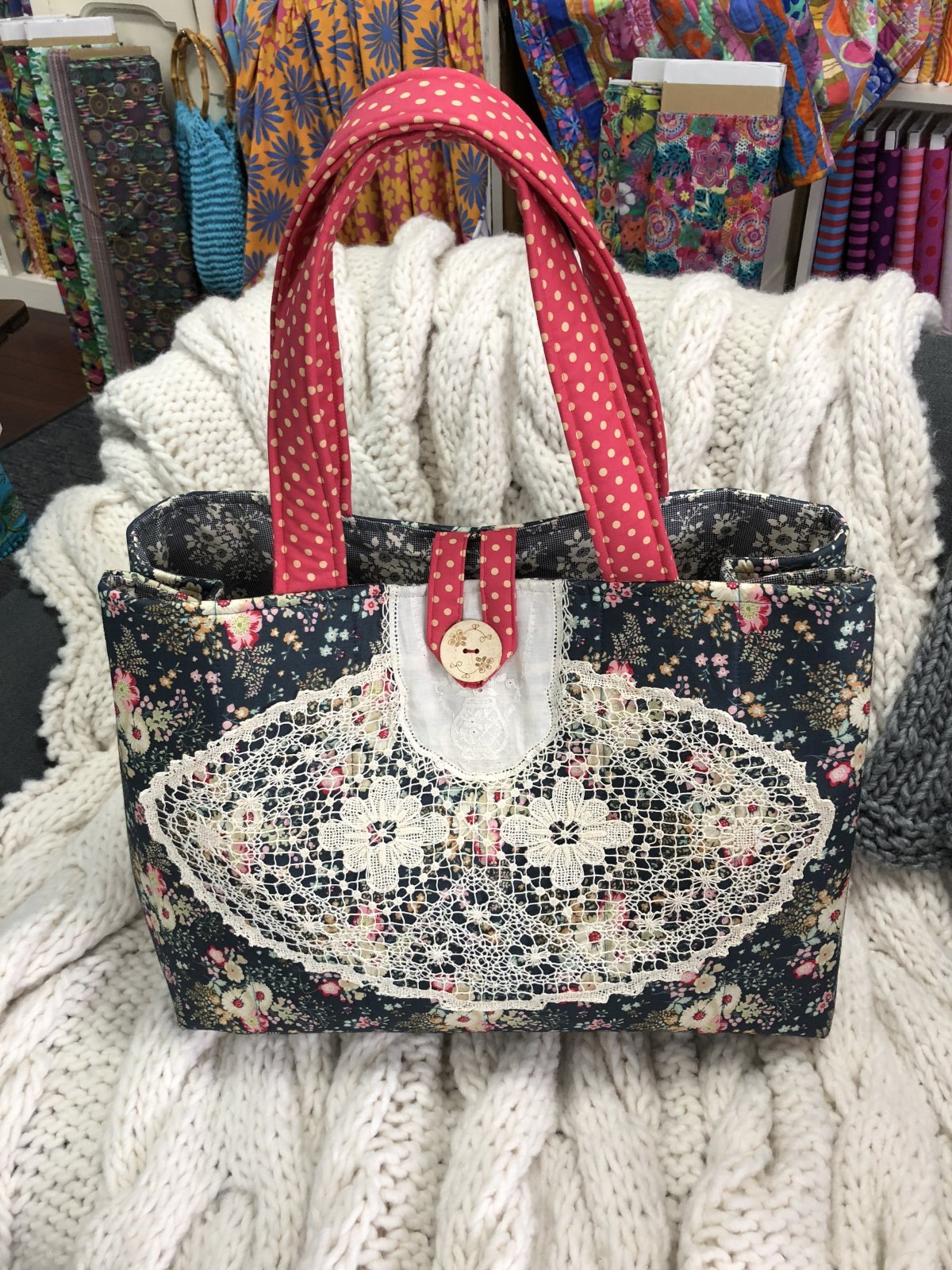 Vintage Weekender Bag Pattern