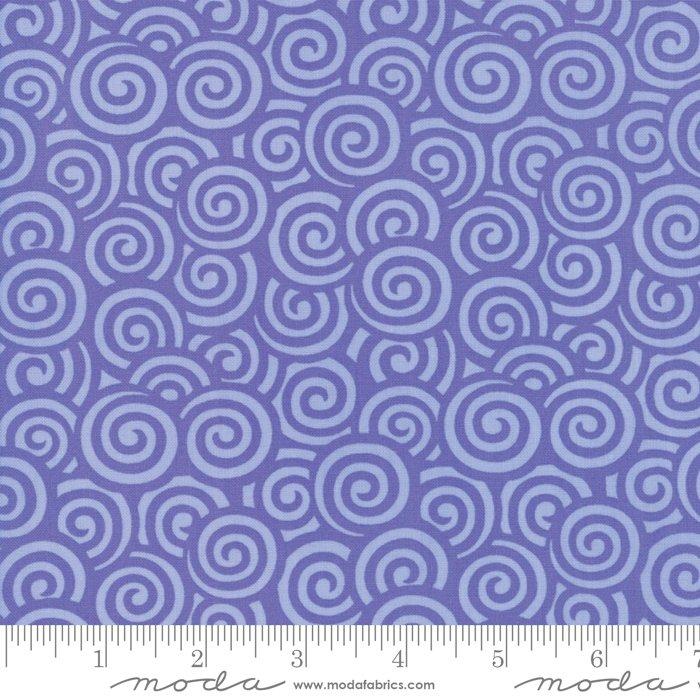 Me & My Sister Designs by Moda - Flower Sacks - Swirls Purple