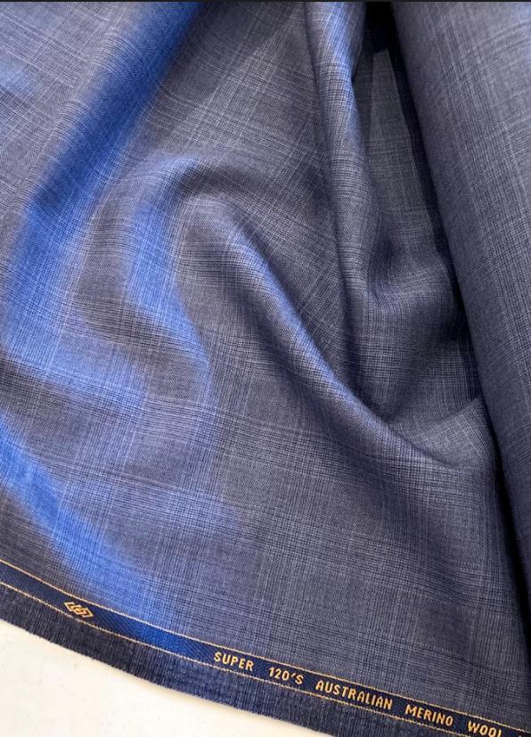 Dead Stock Italian Wool Suiting