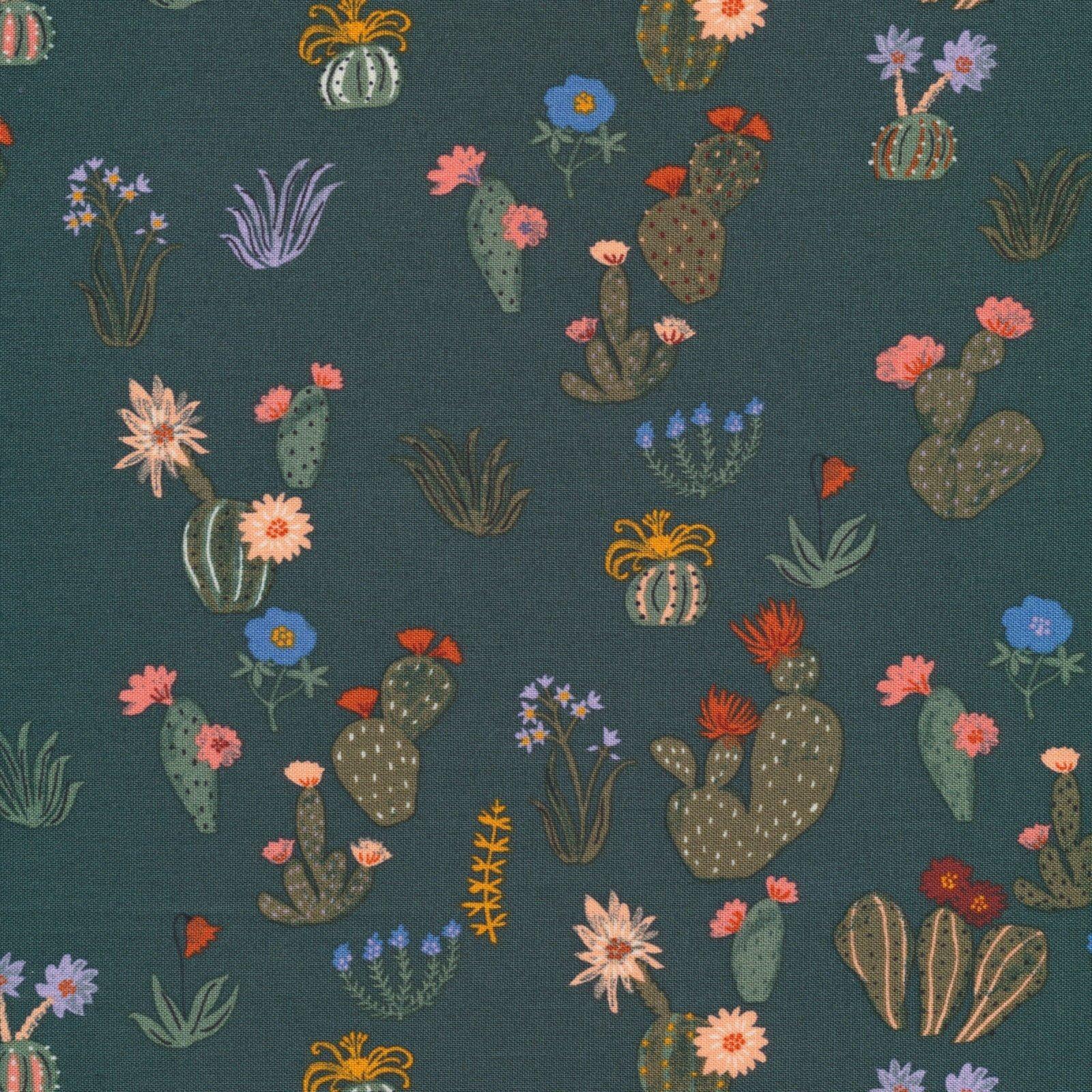 Arid Wilderness Prickly Florals