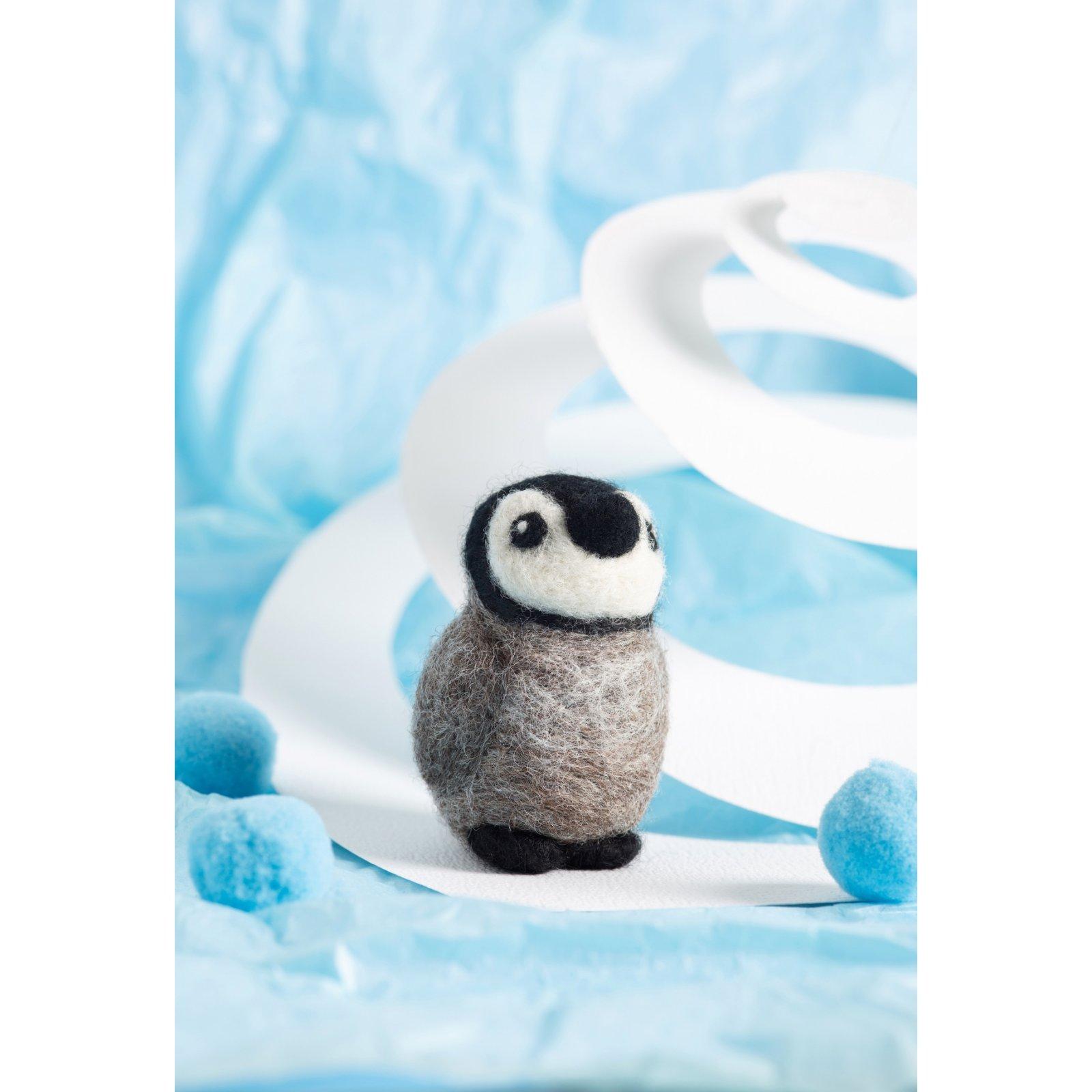 Hawthorn Handmade Baby Penguin Mini Needle Felting Kit