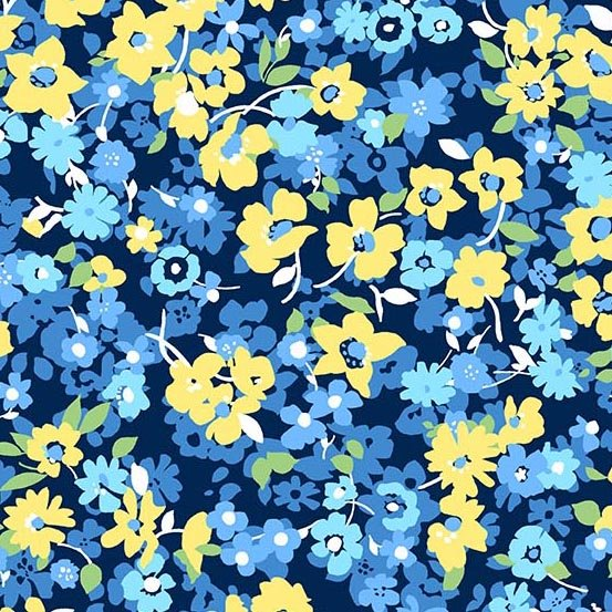 Andover - Only You Packed Floral - Blue