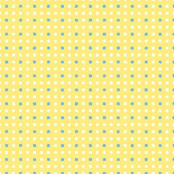 Andover - Only You Square Dot - Yellow