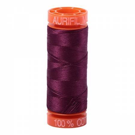 Mako Cotton Embroidery Thread 50wt 220yds Aurifil