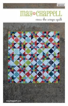 May Chappell - Scrappy Star Quilt