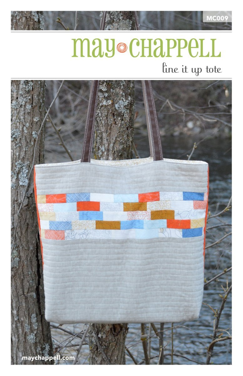 May Chappell - Line It Up Tote