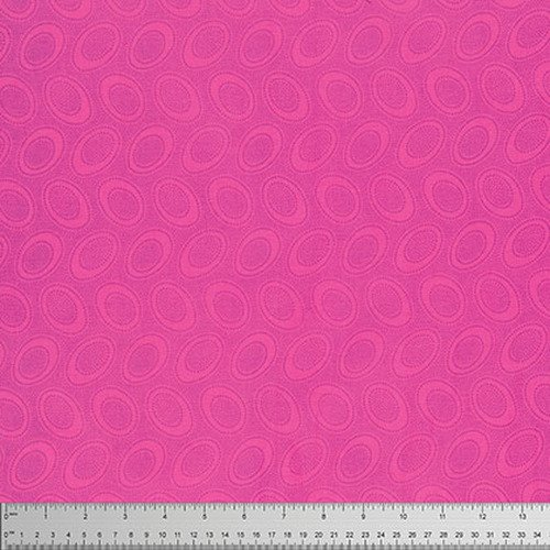 Kaffe Fassett - Aboriginal Dot - Shocking Pink