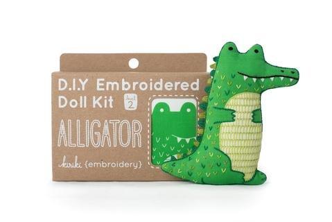 Alligator- Embroidery Kit