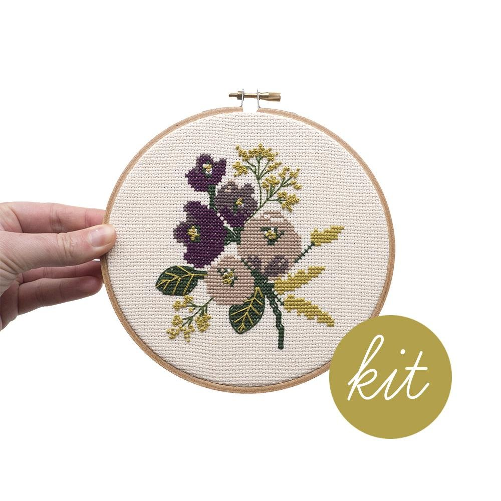 Amethyst Cross Stitch Kit
