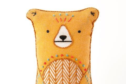 Bear- Embroidery Kit