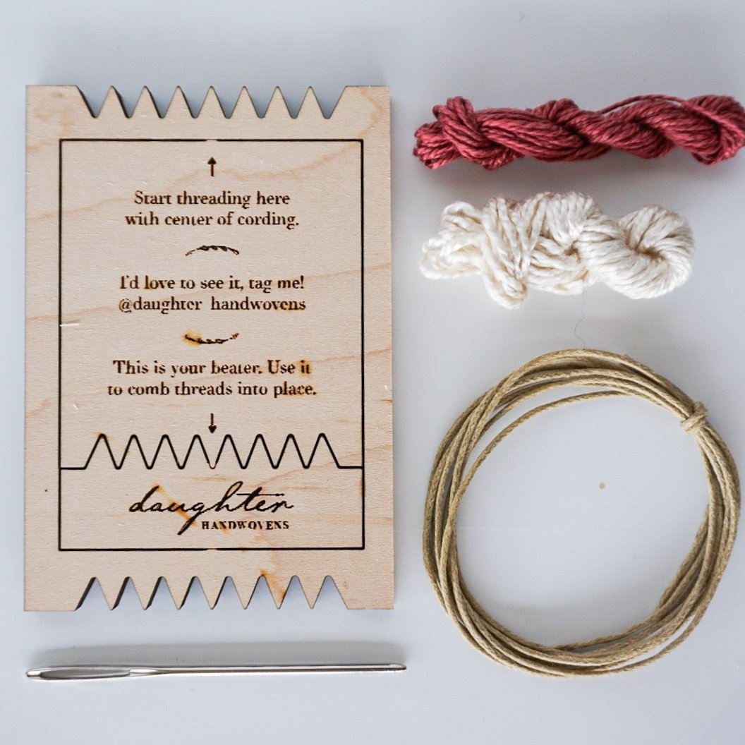 Daughter Handwovens Woven Necklace Kit