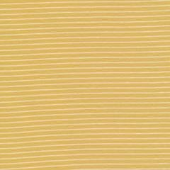 Cloud9 Organic Interlock Stretch Knit Little Stripes Gold