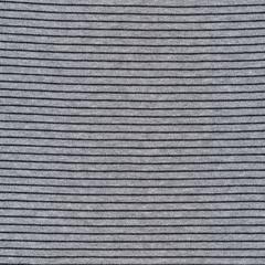 Cloud9 Organic Interlock Stretch Knit little Stripes Heather Gray/black