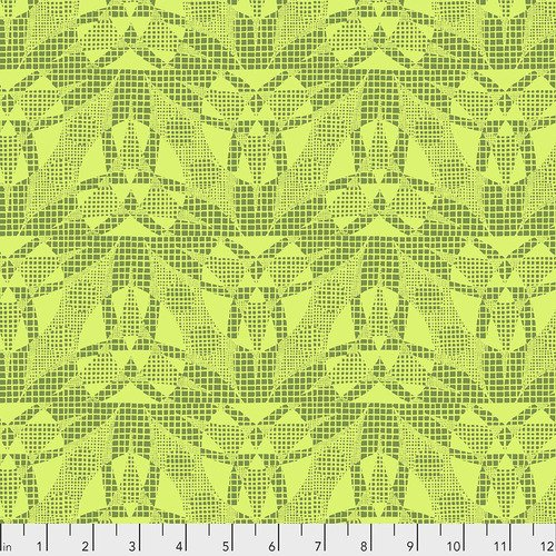 Amy Butler - Natural Beauty - Spiderweb Lime