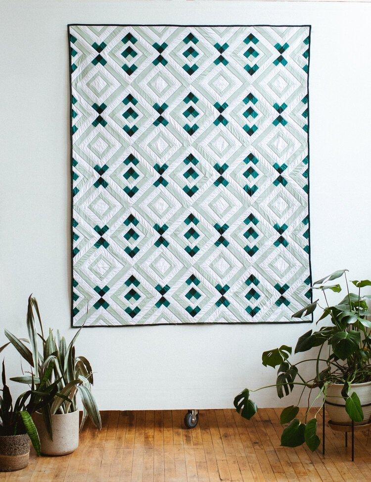 Crest Quilt Pattern Alderwood Studio
