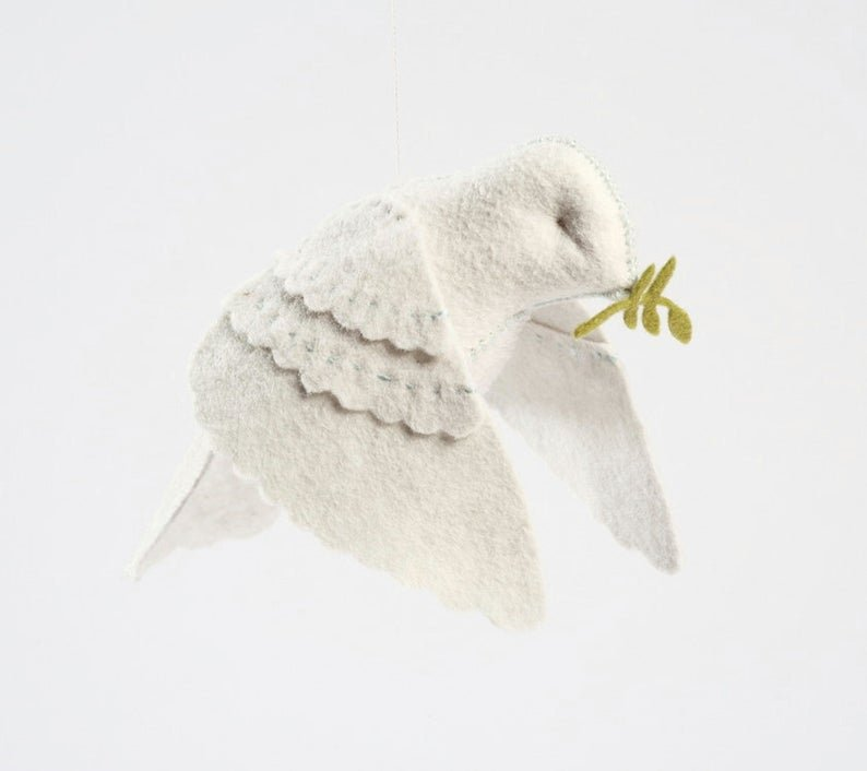 Dove in Flight Hand Stitching Kit by Thread Follower